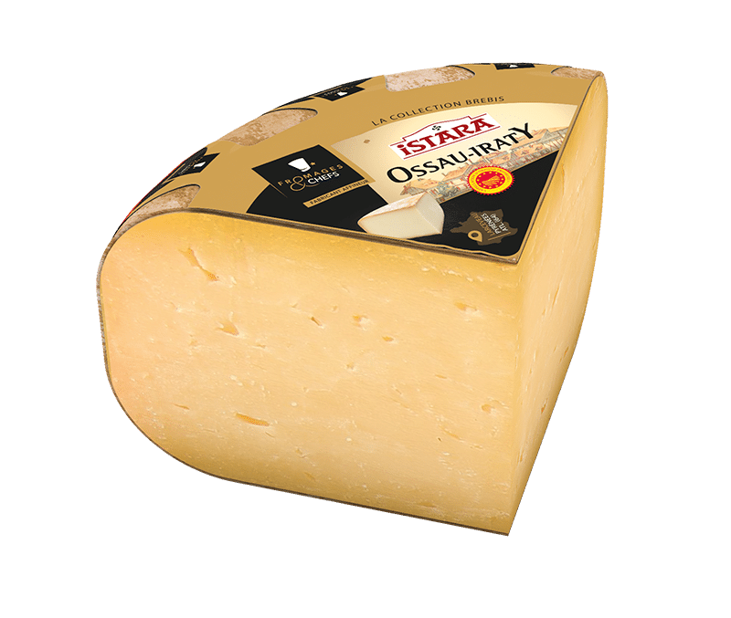 Ossau-Iraty  1/4 <br> Fromages <span>&</span> Chefs Istara