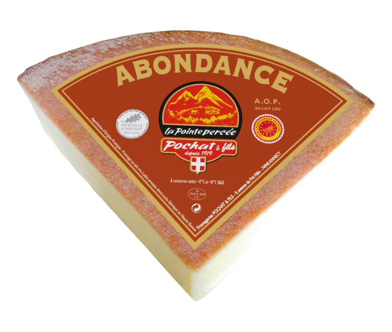Abondance AOP  1/4 <br> Fromages <span>&</span> Chefs Pochat