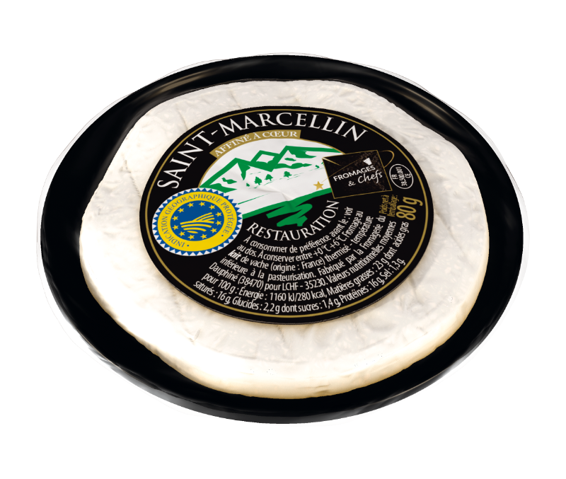 Saint-Marcellin affiné 80g <br> Fromages <span>&</span> Chefs